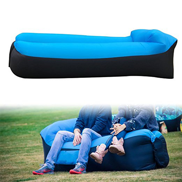 IPRee® Upgraded Version 210D Oxford 185x70x50cm Air Inflatable Pillow Lazy Sofa Max Load 200kg
