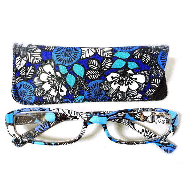 Fashion Personality Printed Bag Comfortable Reading Glasses