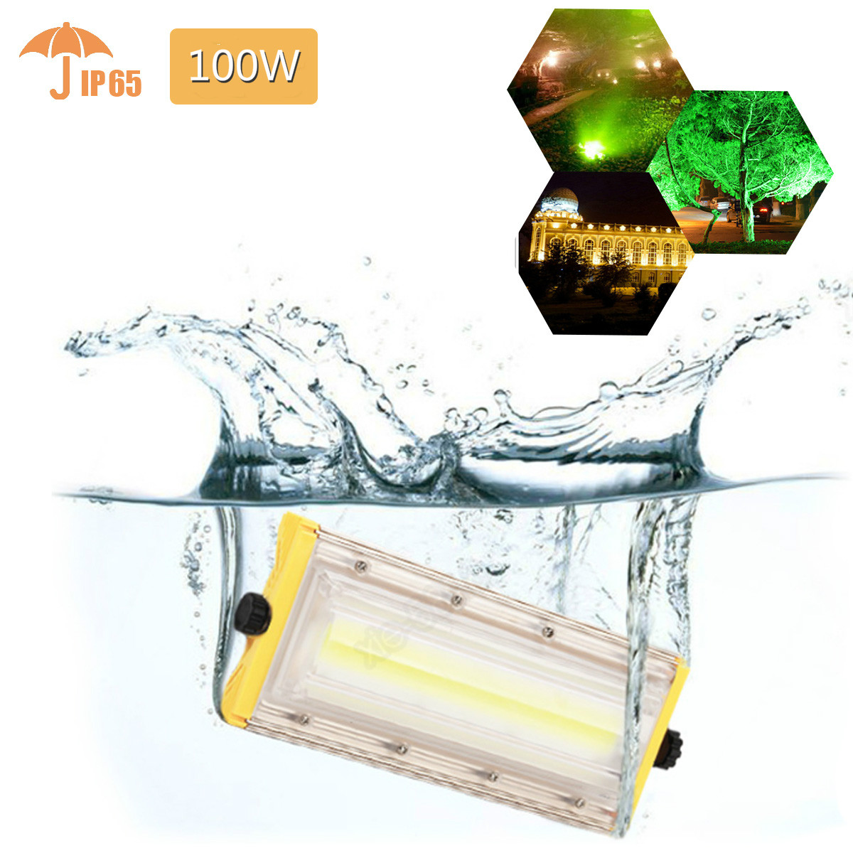 50W-150W LED Flood Light IP66 Cool Warm White Outdoor Path Spot Floodlight 240V LED Flash Light
