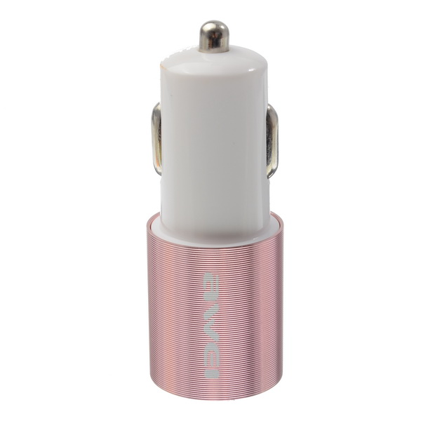 Awei® Metal Dual USB Quick Car Charger 5V 2.4A For iPhone SE/6S/6S Plus/6/6 Plus/PC/iPad
