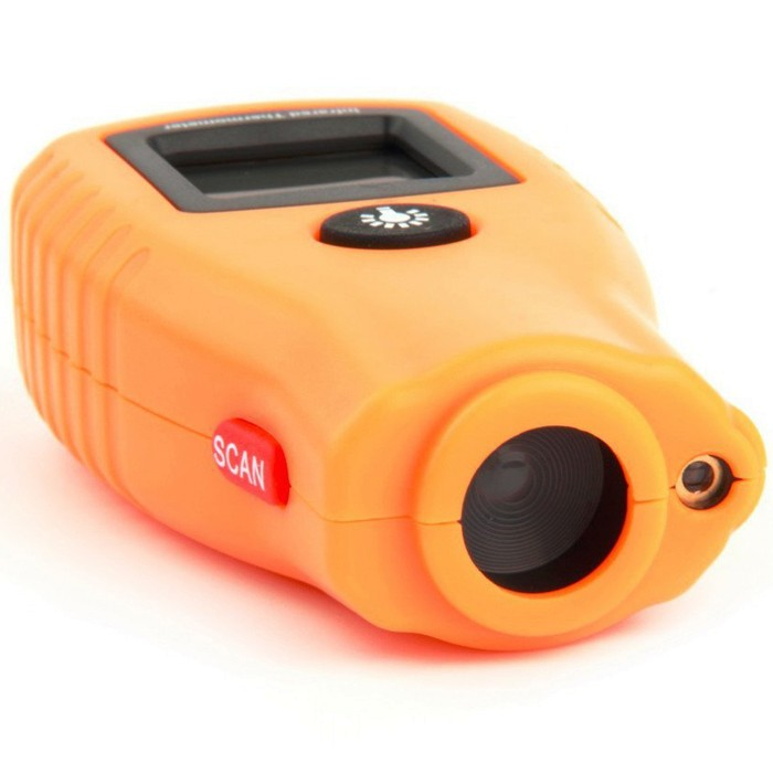 GM270 Digital LCD Non Contact Infrared Thermometer Mini Pocket Laser Temperature Tester -32~280℃/ -26~536℉