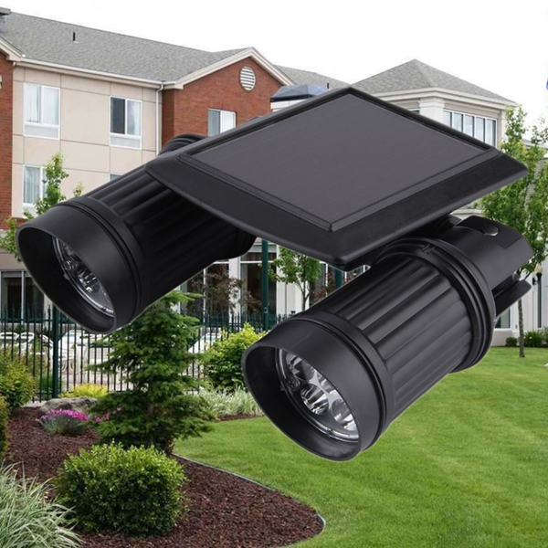 Solar Powered 14 LED PIR Motion Sensor Outdooors Garden Entrance Wall Lamp Spot Lightt