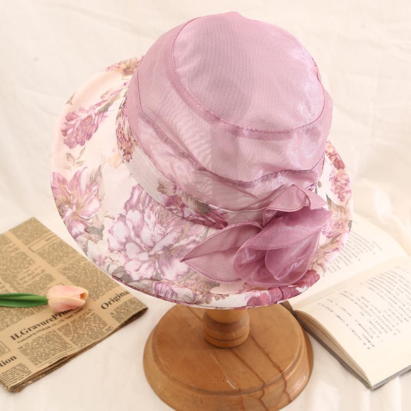 Mesh Wide Birm Beach Bucket Cap Sun Protection Fishing Hat