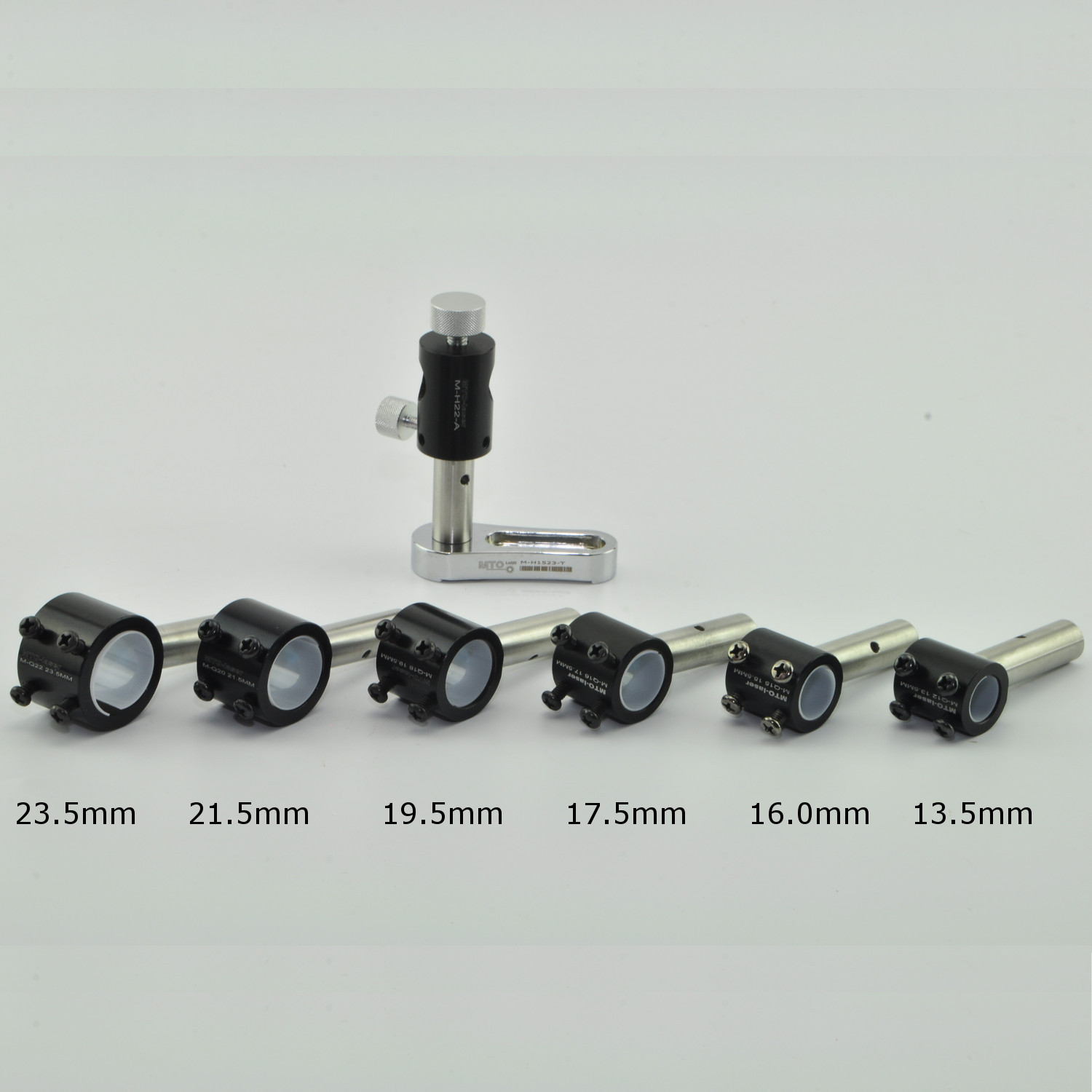 MTO HT2 Two Laser Axis 360° Positioning Shockproof Bracket Holder for 13.5mm-21.5mm Laser Module