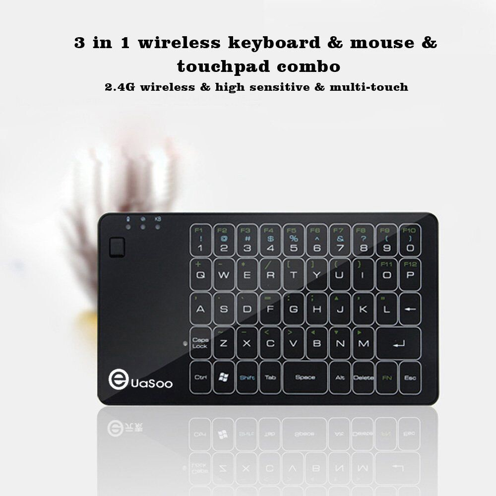 E Element 3 in 1 2.4G Wireless Mini Touchpad Keyboard Air Mouse Gesture Control