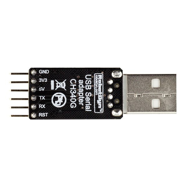 RobotDyn® USB Serial Adapter CH340G 5V/3.3V USB to Ttl-uart For Arduino Pro Mini DIY