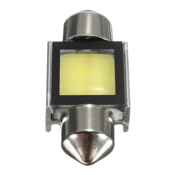 1pcs 31mm 2W 110LM 6000K White COB SMD LED Car Interior Dome Festoon Lights Bulb Lamp
