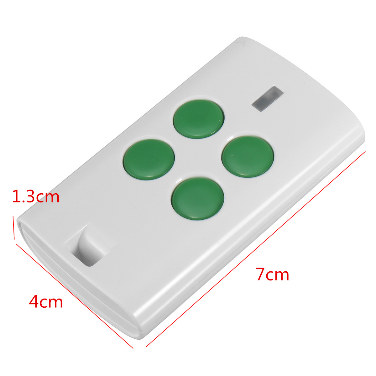 4 Button 280-868 MHz Universal Garage Door Multi Remote Fits Fixed Rolling Code