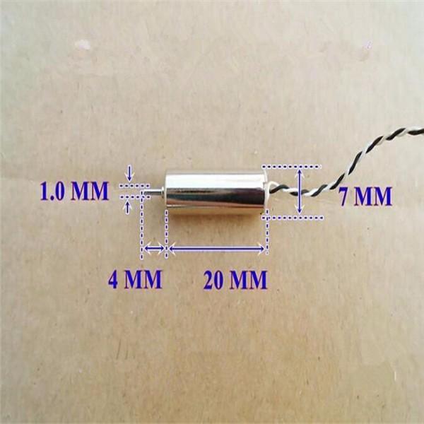 2pcs 4.2V 46500rpm Coreless Motor Strong Magnetic Mini Motor
