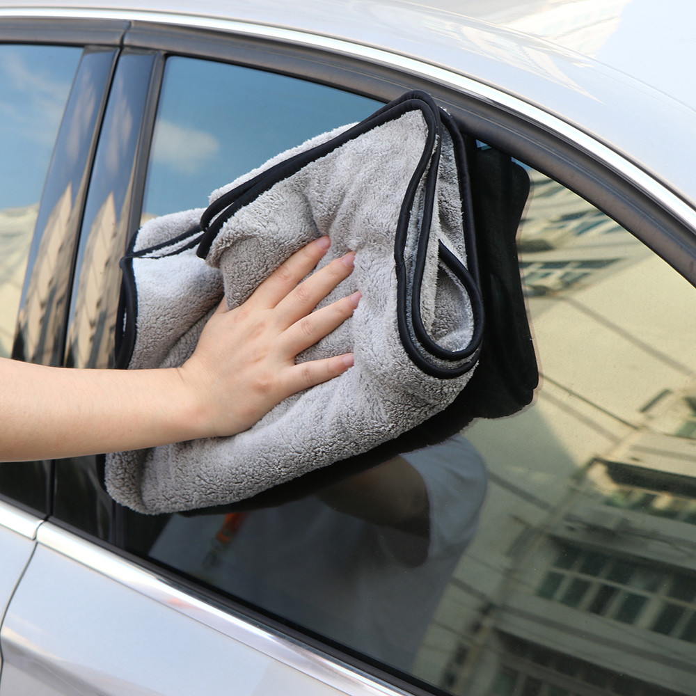 60x40 100x40cm Car Cleaning Cloths Microfiber Wash Towel Super Absorbency One-Time Drying