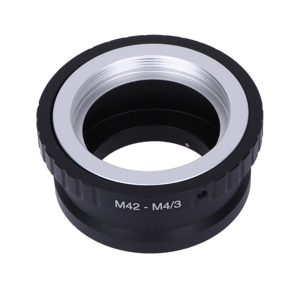M42-M4/3 Lens Adapter Ring for Takumar M42 Lens Micro 4/3 M4/3 Mount for Olympus Panasonic M42-M4/3 Adapter Ring Promotion
