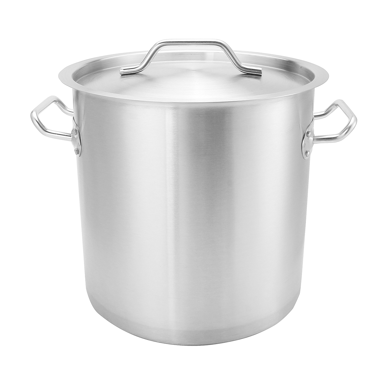 Commercial Thicken Stainless Steel Stock Pot Home Kitchen Cookware 20/25/28/30CM