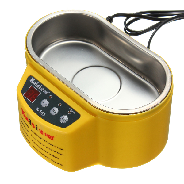 AC 220V Mini Ultrasonic Cleaner Ultrasonic Waher for Jewelry Glasses Circuit Board Watch CD Lens