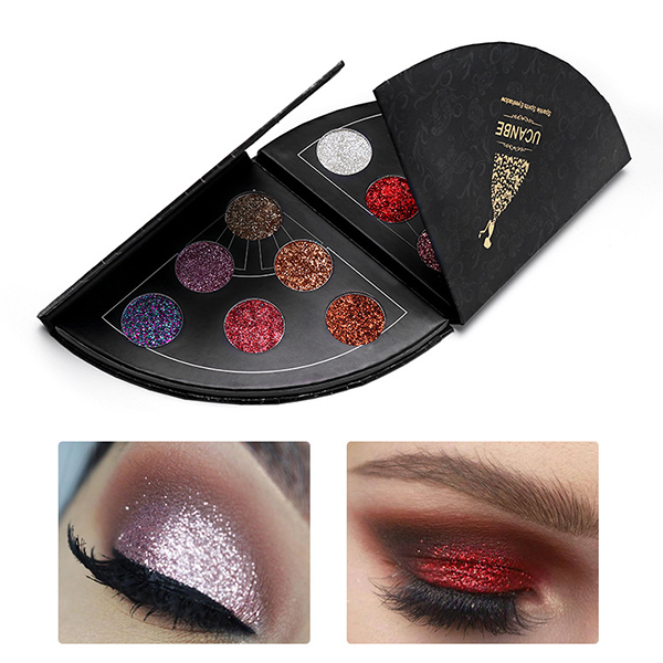 6 Colors Shimmer Waterproof Eye Shadow Palette