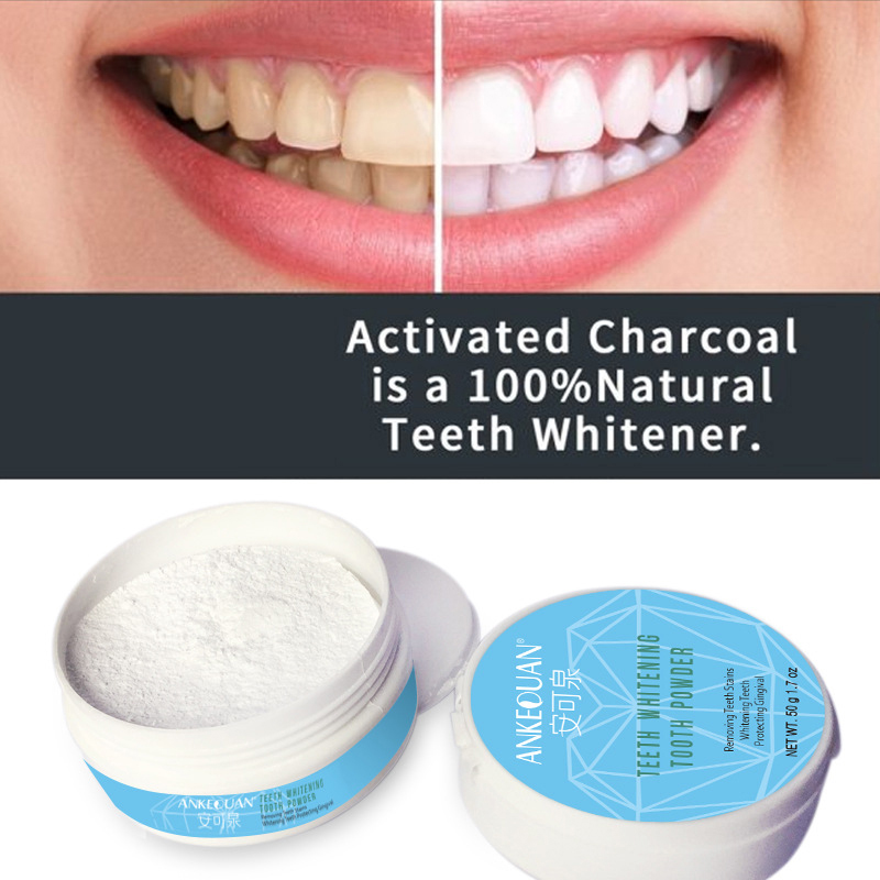50g Whitening Tooth Powder Cleaning Oral Hygiene Removal