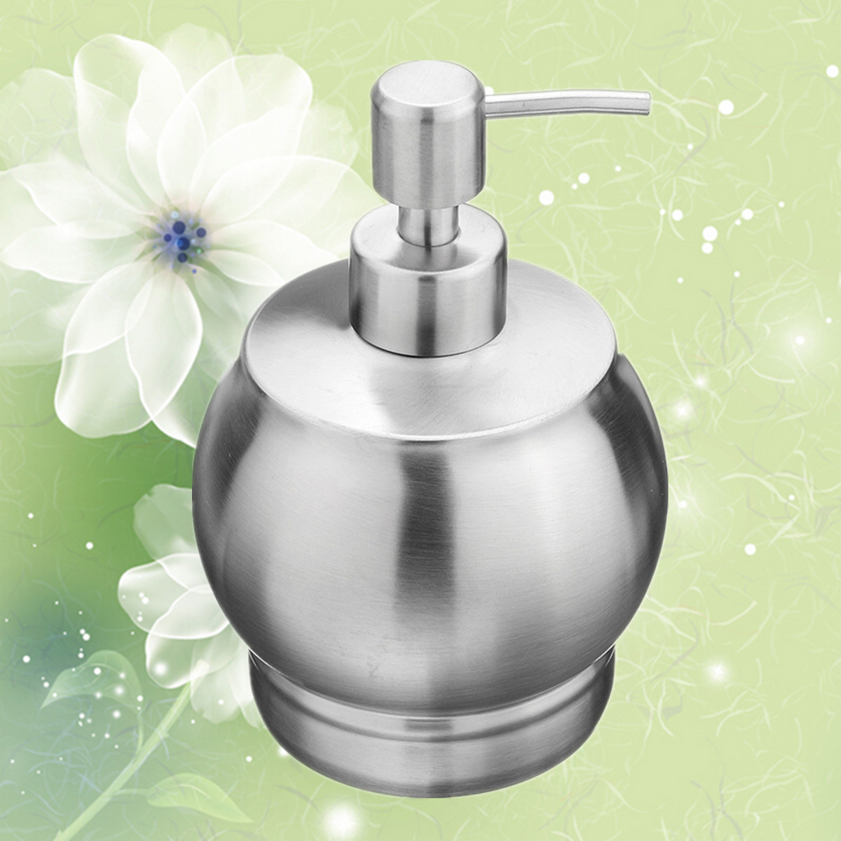 Stainless steel Color Sanding Liquid Soap Latex Bottle Hand Soap Dispenser
