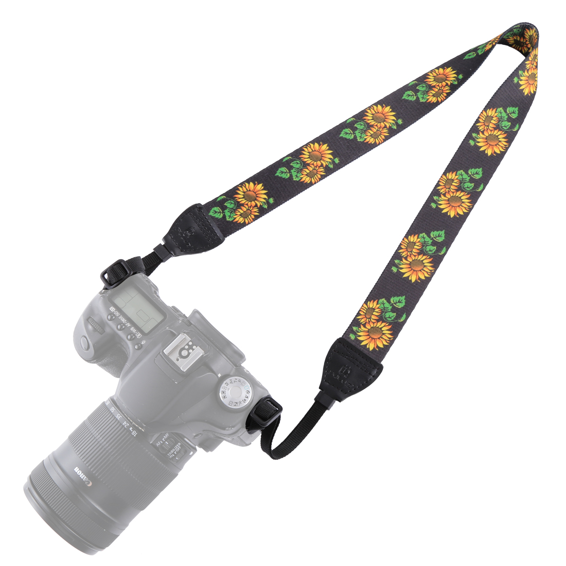PULUZ PU6009C Retro Ethnic Style Multi-color Series Shoulder Neck Strap for SLR DSLR Camera