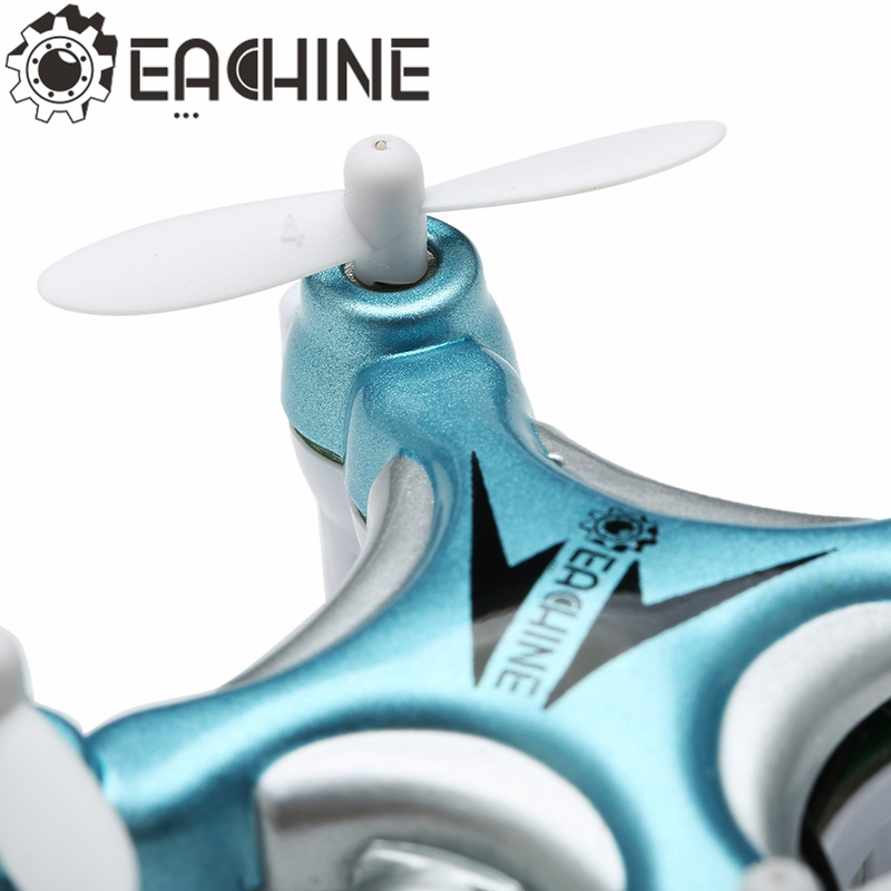Eachine E10W Mini Wifi FPV 2.4G 4CH 6 Axis LED RC Drone Quadcopter With Camera RTF