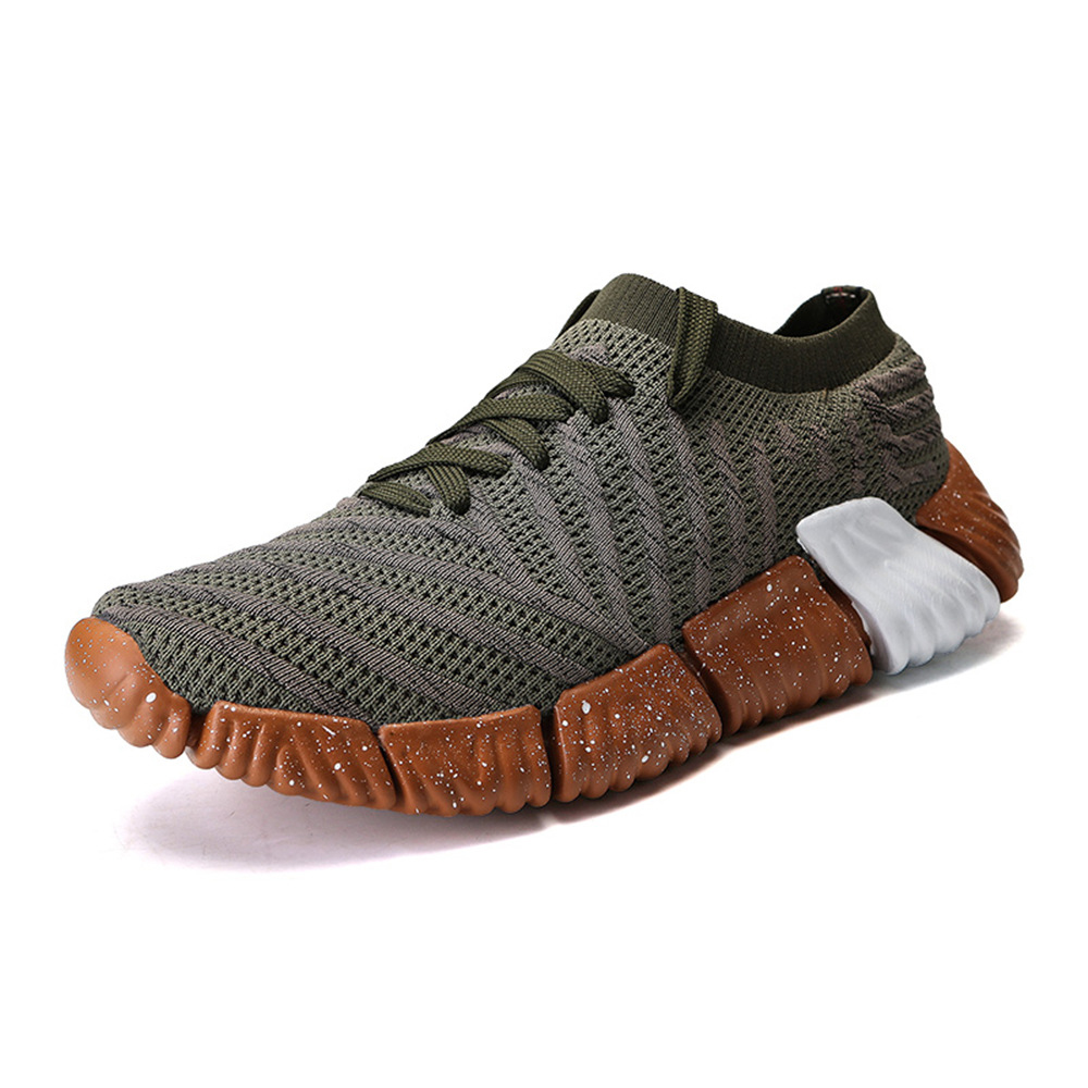 Men Soft Sole Breathable Mesh Sneakers Casual Sports Shoes