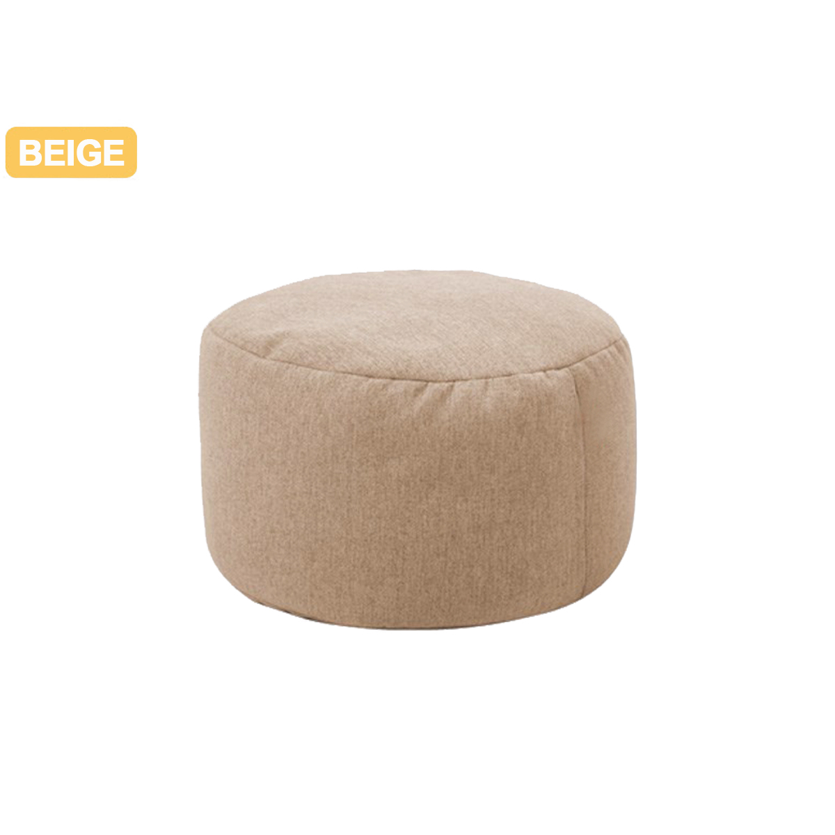 Small Round Bean Bag Beanbag Sofas Case Lounger Chair Sofa