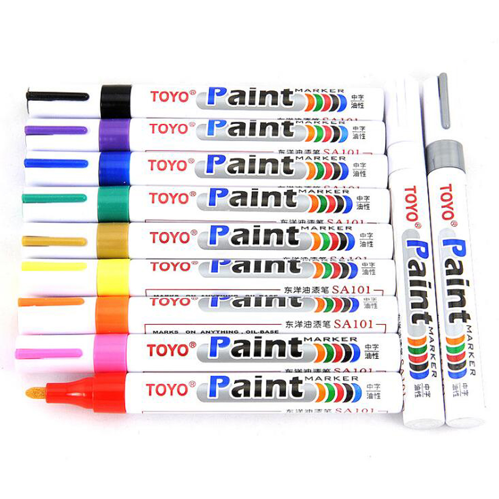 2 X RC 8ml Marker Painting Pen Purple & Blue for Frame Kit FPV Racing Drone DIY Design