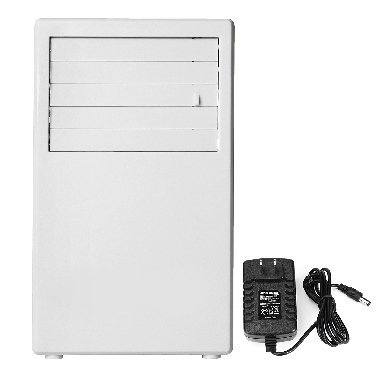 Portable 24W Spray Air Conditioning Fan Touch Control Table Mini 3 Speed Cooling