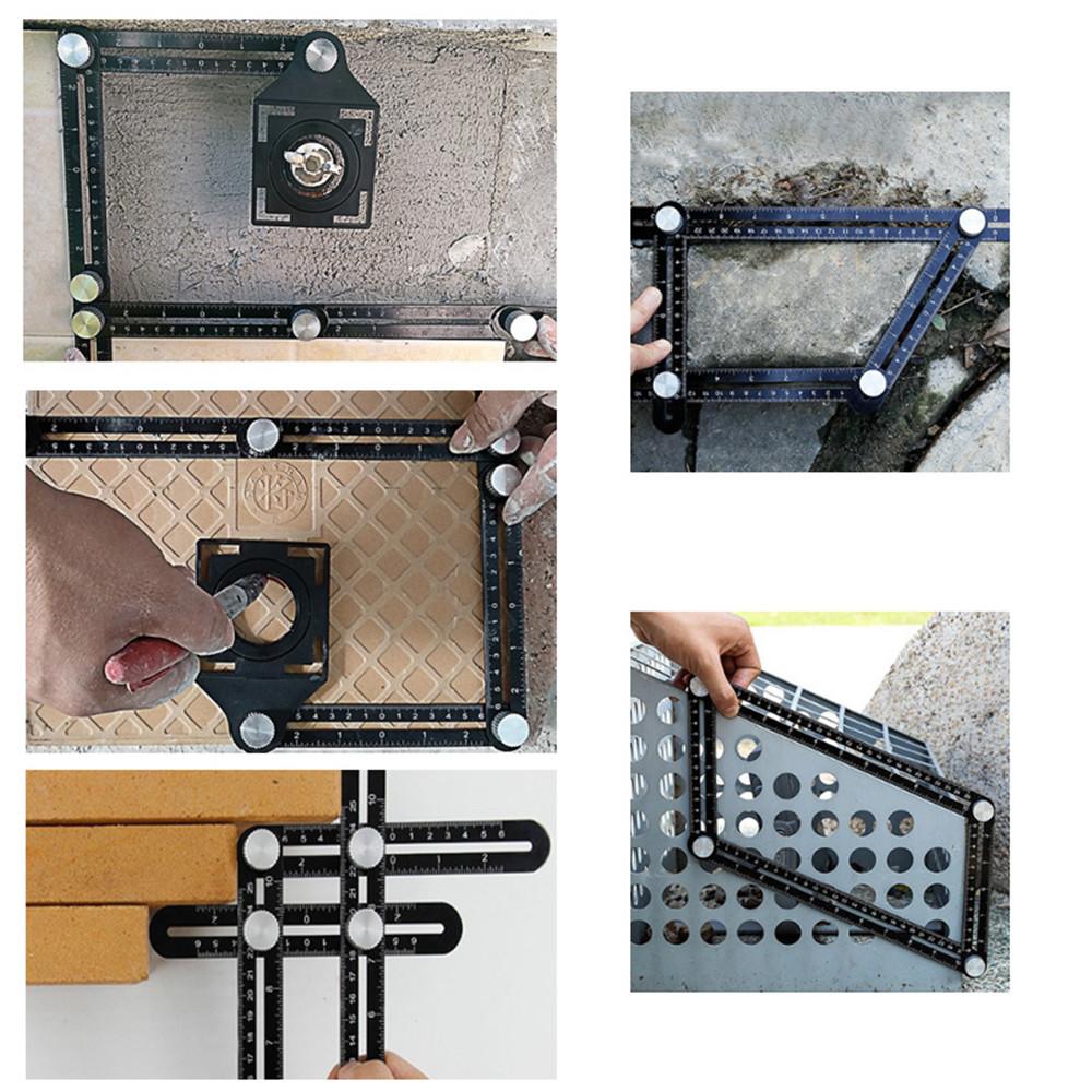 Tile opening locator
