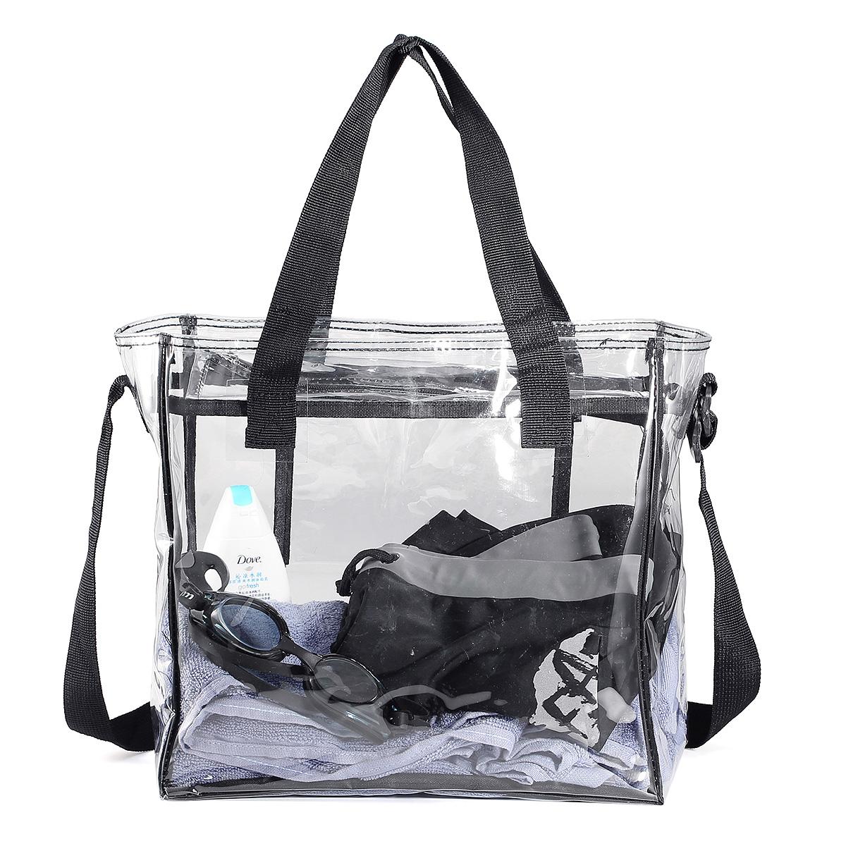 KCASA KC-0628 Clear PVC Travel Storage Bag Waterproof Z