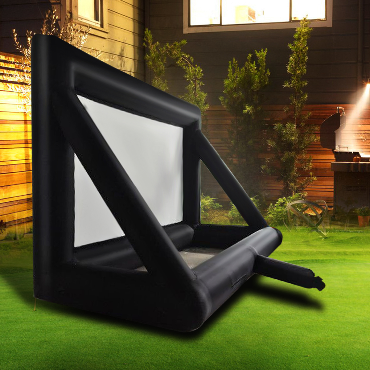 4.5x3.5M Inflatable Movie Screen Outdoor Cinema Projection Home Theatre