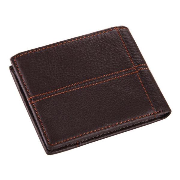 Men Bag, Business Genuine Leather, Retro Card Holder, Money Bag Wallet
