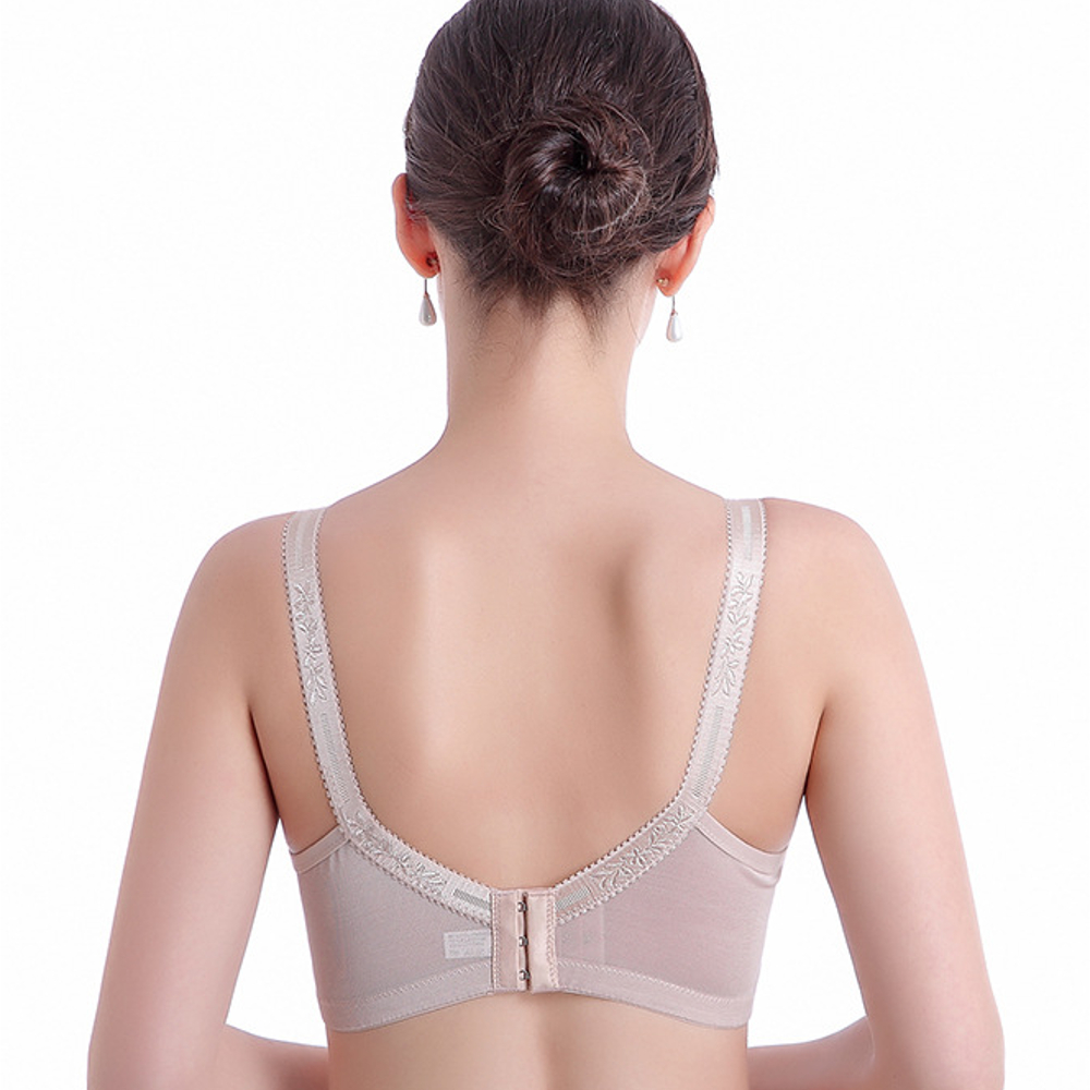 Wireless Plunge Lace Adjusted Straps Thin Woman Bras