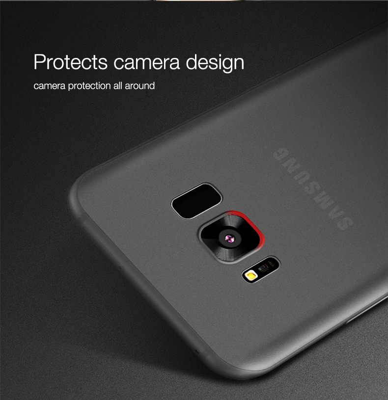 Cafele Micro Matte Anti Fingerprint PP Case For Samsung Galaxy S8
