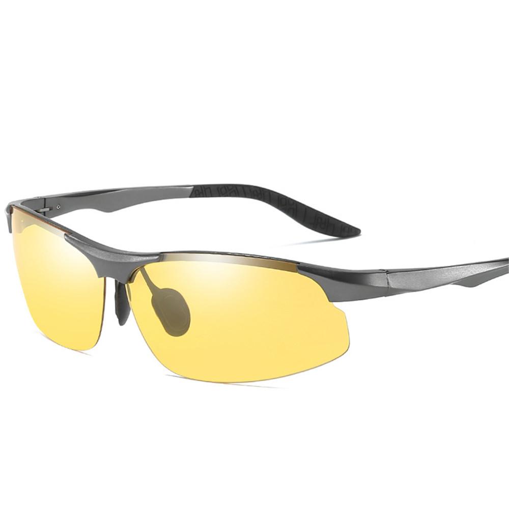 Rimless UV Resistence Polarized Sunglasses For Men