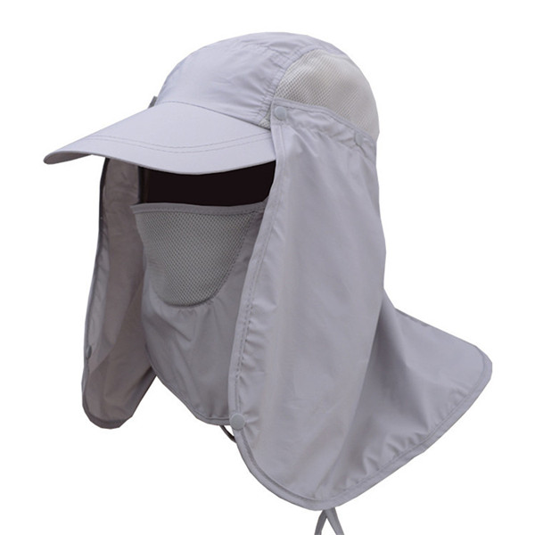 mens quick dry neck cover sun fishing hat uv protection cap at Banggood 35baaf8b7af