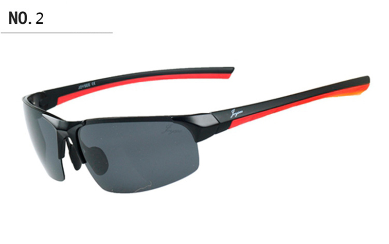 Sport Outdoor Cycling Soft Silicone Polarized UV Sunglasses HD Radiation Protection Glasses