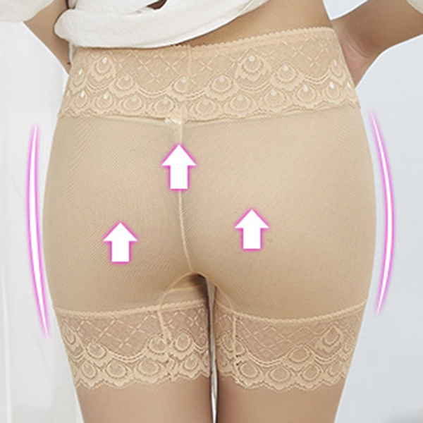 Mid Waist Leggings Jacquard Panties