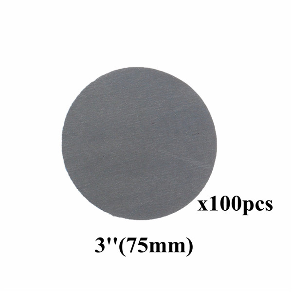 100pcs 3 Inch 3000 Grit Sanding Discs Self Adhesive Mixed Grit Sanding Polishing Sandpaper