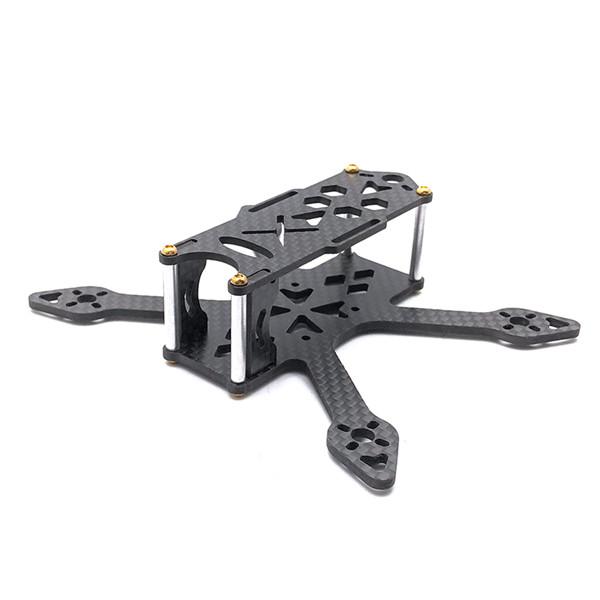 GP110 110mm 2.5mm Bottom Plate 3K Carbon Fiber Racing Frame Kit Support Runcam Micro Swift Camera