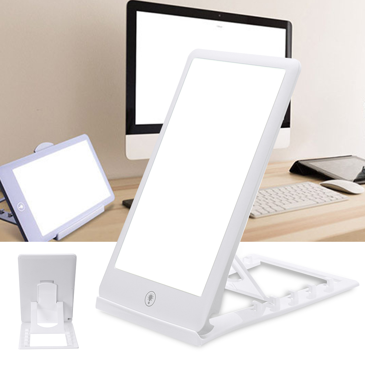 3 Modes Adjustable Light Therapy Lamp for Affective Disorder