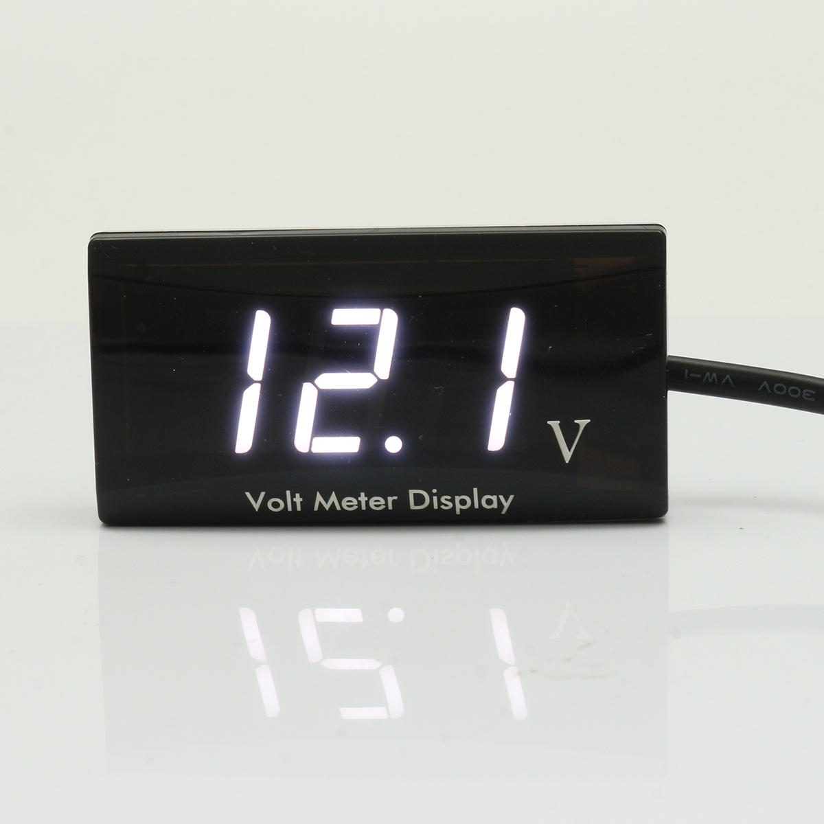 12V Waterproof Voltage Panel Meter LED Digital Display Volt Meterr For Car Motorcycle