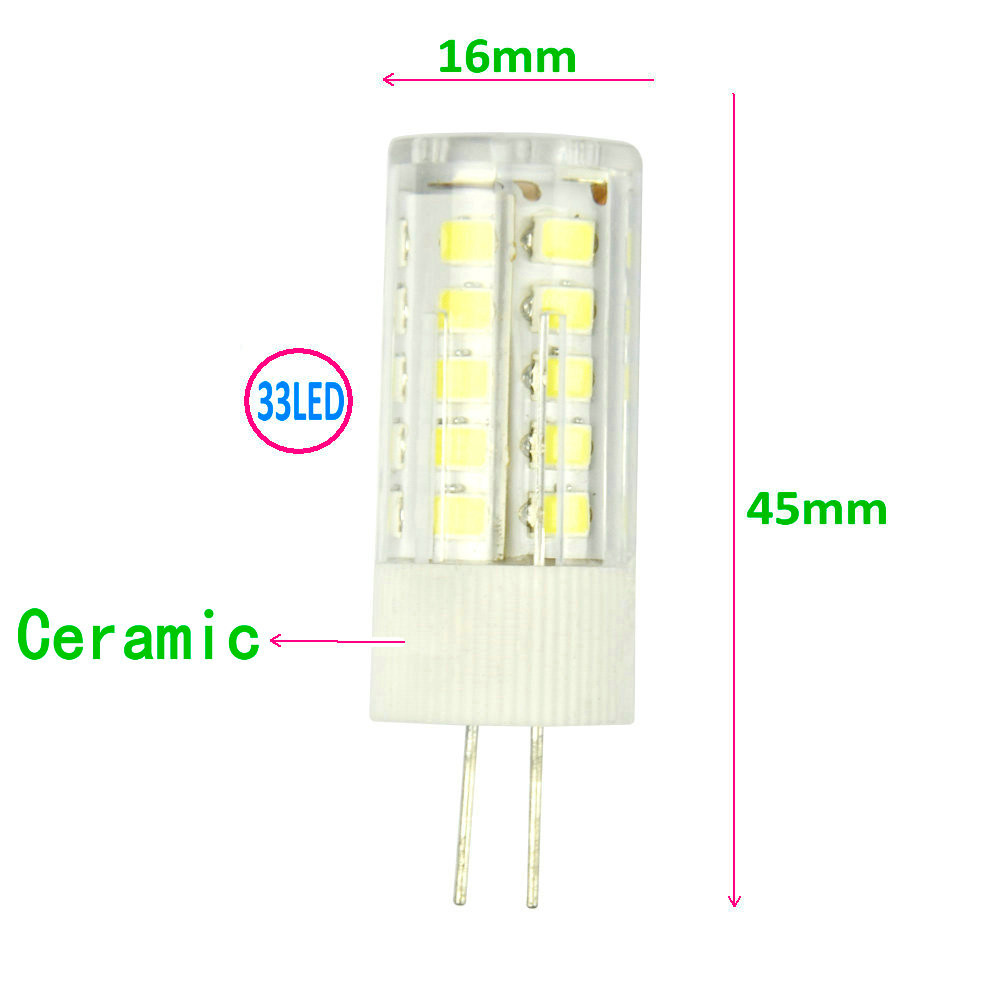 E14 G4 G9 3.5W 2835 SMD LED Light Bulb Home Lamp Decoration AC220V