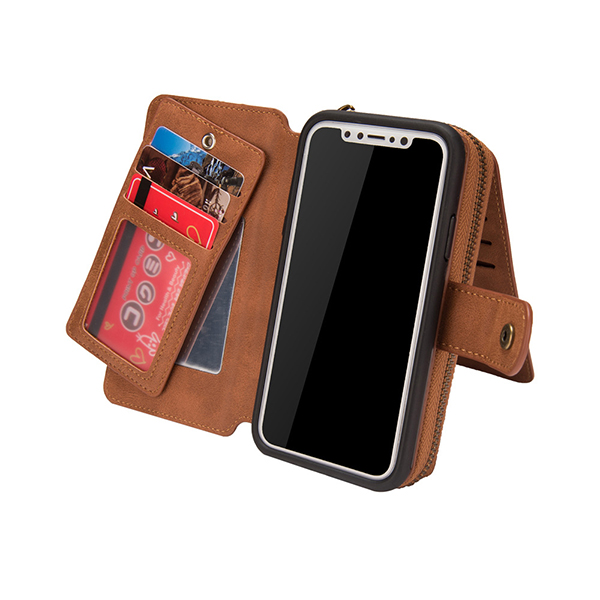 Men Or Women Faux Leather Phone Bag Phone Holder Card Holder