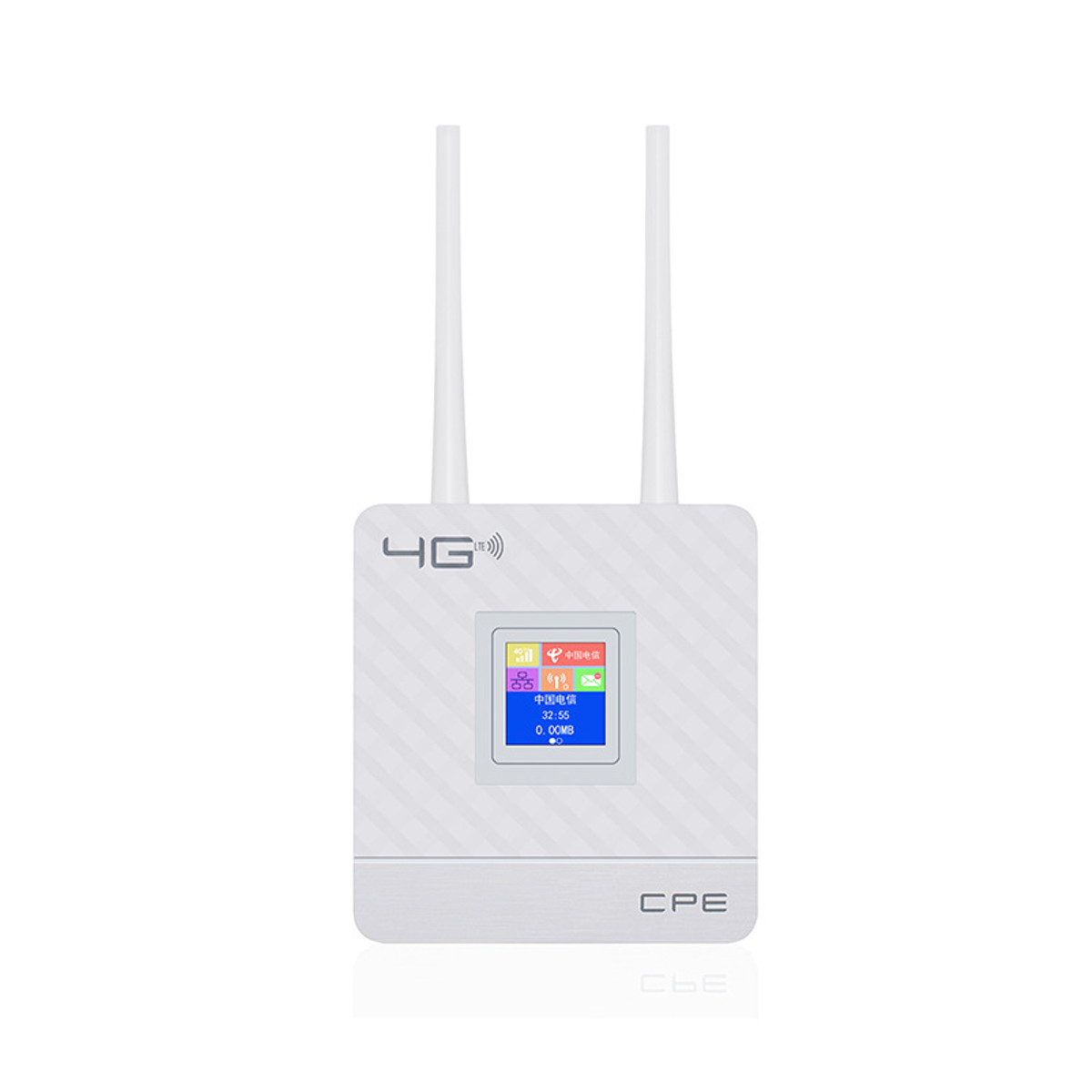 2.4G 4G LTE Wifi Router CPE Router Support for 20 Users with SIM Card Slot Wirelss Wired Router