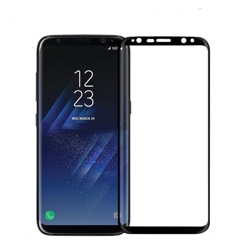 NILLKIN 3D Arc Edge 9H MAX Full Coverage AGC Glass Screen Protector for Samsung Galaxy S8 5.8'