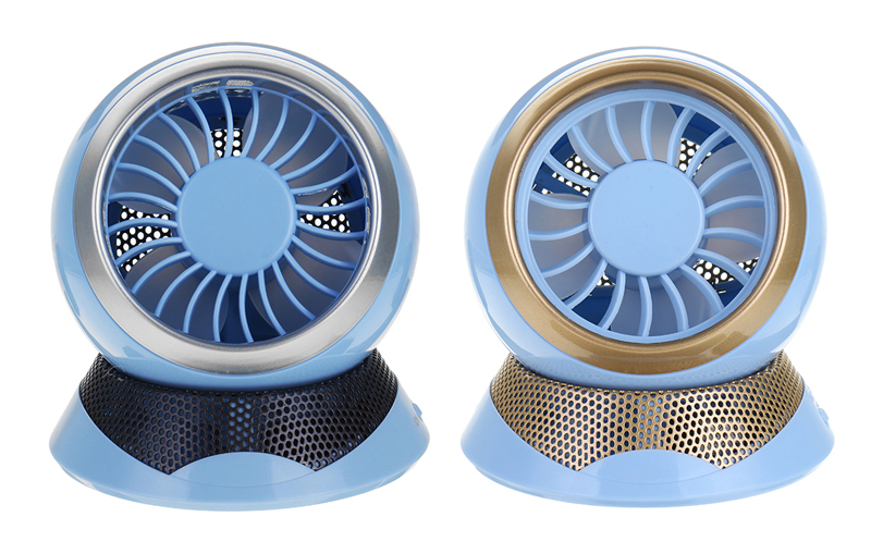2in1 Mini USB Fan Air Conditioner With Anion Purification Aromatherapy Function Camping Cooling Fan
