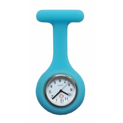 Colorful Silicone Doctor Fob Watch Pocket Nurse Watches