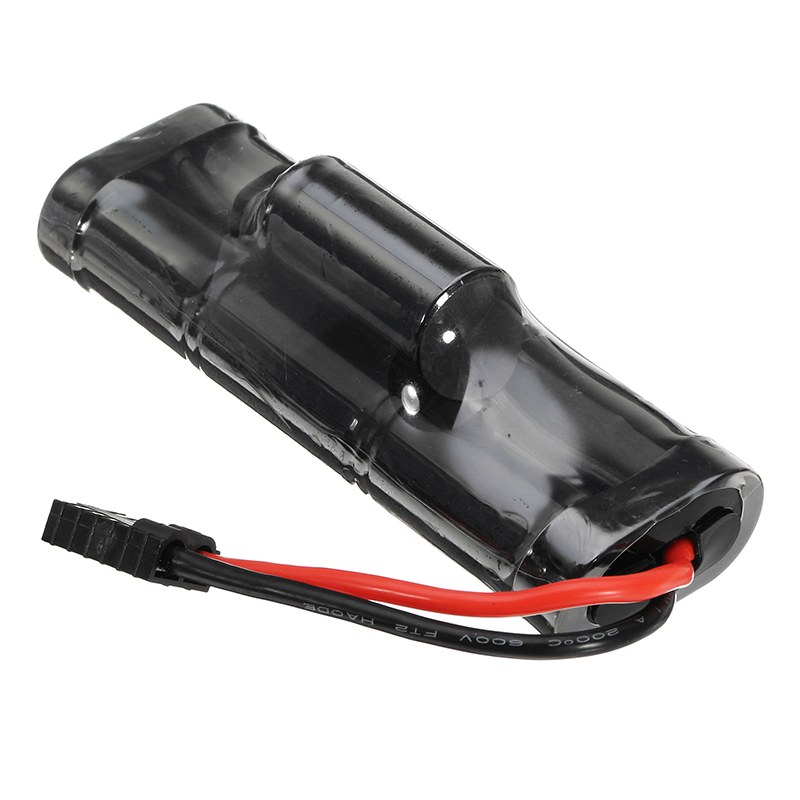 J&Y 8.4V 3000mAh NiMH Rechargeable Battery Pack TRX Plug for Traxxas RC Car