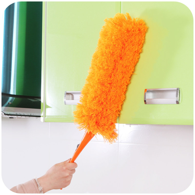 Multifunction Flexible Feather Duster Household Dusting Brush Room Furniture Dust Cleaner Cleaning Tool