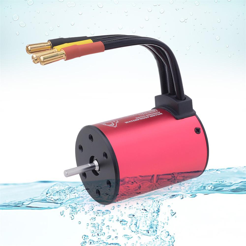Surpass Hobby 3650 3100/3600/4500/5200kv 2S/3S 1/10 Waterproof RC Car Motor - Photo: 2