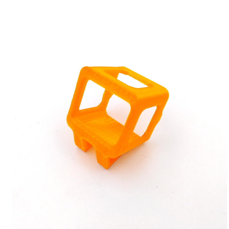 35 Degree Inclined Base Camera Protective Frame Case Orange Spare Part For Runcam 3S Camera - Photo: 3